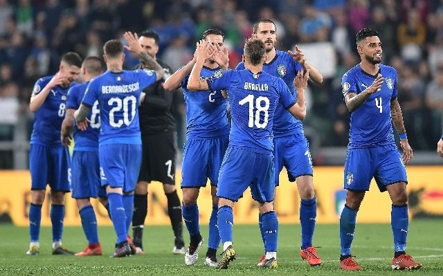 Italia-Bosnia 2-1 Euro 2020
