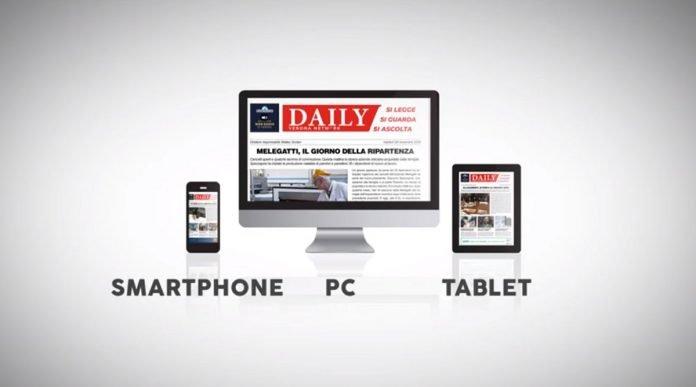Nuovo sito web Daily