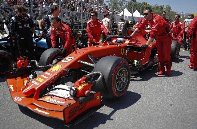 Penalità a Vettel Sebastian