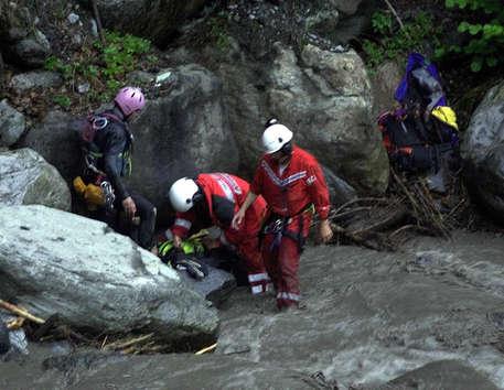 australiano annegato canyoning