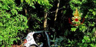 incidente bosco chiesanuova