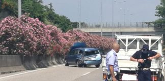 incidente investito tangenziale