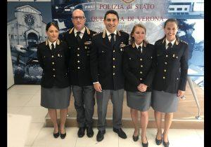 La Questura di Verona ha quattro nuovi funzionari