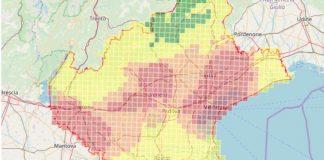 ozono mappa sforamenti veneto