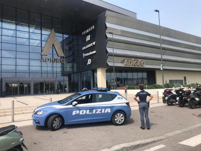 polizia tentato furto adigeo