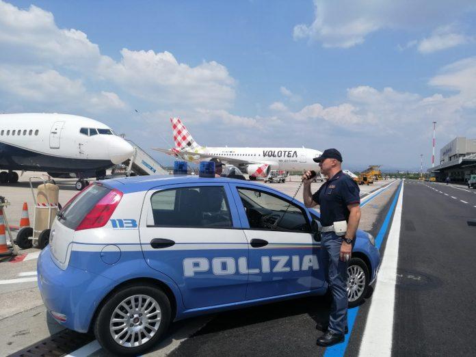 spacciatore arrestato in aeroporto