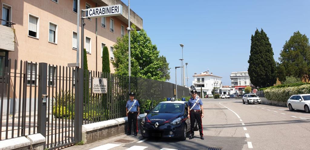 ricercato in tutta europa carabinieri di Peschiera