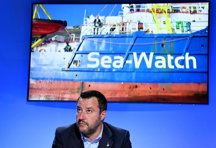 salvini sea watch