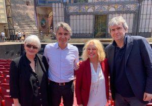 Traviata, Antonella Clerici presenta la diretta in mondovisione