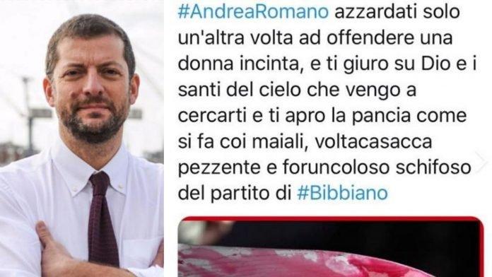 Andrea Romano minacce di morte