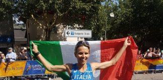 Catherine Bertone maratoneta