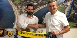 ChievoVerona e Fortitudo Mozzecane - Sergio Pellissier e Giuseppe Boni