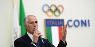 Giovanni Malagò Coni Olimpiadi 2026 milano cortina sostenibilità