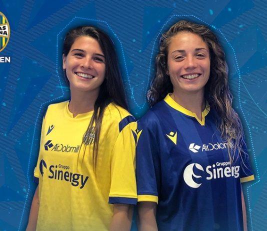 Hellas Verona Women-calcio femminile-Benedetta Glionna-Sofia Cantore