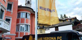Hellas Verona ritiro Primiero
