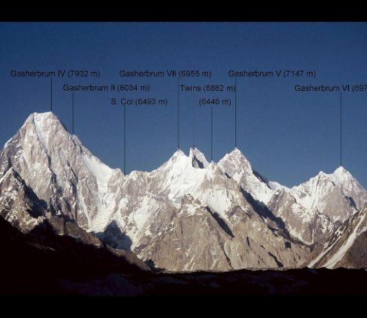 alpinista ferito pakistan