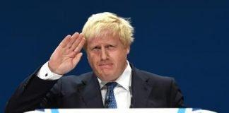 Boris Johnson prosecco
