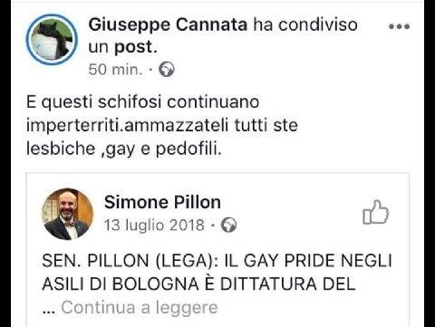 cannata frase gay