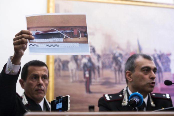 omicidio carabiniere roma