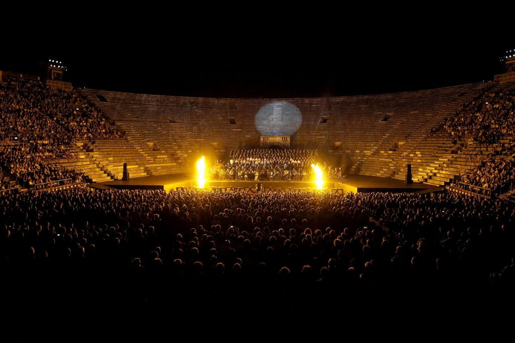 Carmina Burana in Arena