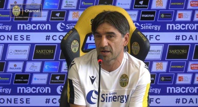 Ivan Juric Hellas Verona Lecce Verona