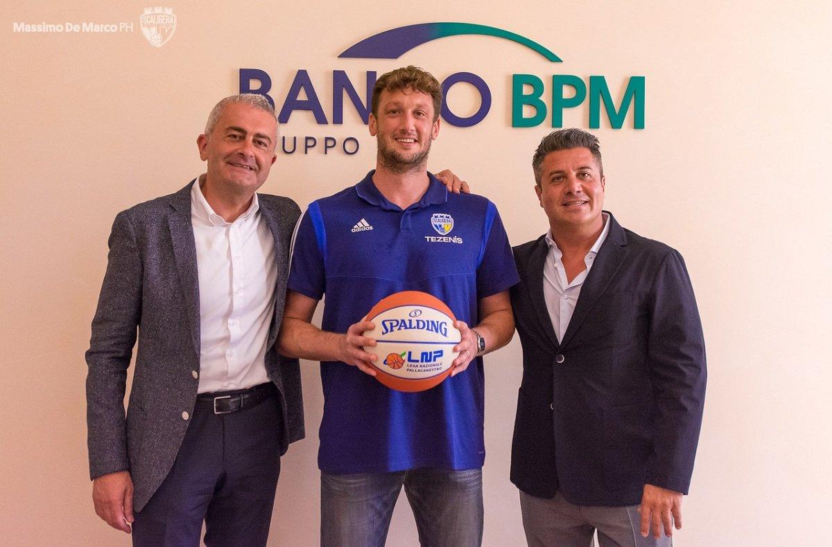 Scaligera Basket Verona - presentazione Guido Rosselli