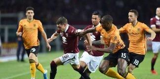 Torino-Wolverhampton Europa League