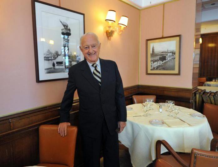 capo chef di Cipriani - Arrigo Cipriani