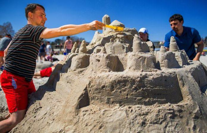 castelli di sabbia cavallino