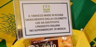 coldiretti export russia