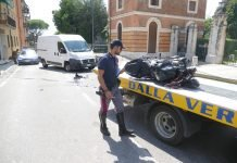 incidente san martino motociclista grave