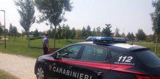quattro rapinatori zaino carabinieri