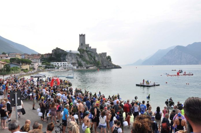 swim the castle
