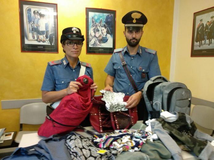 Carabinieri - ladra a Lazise