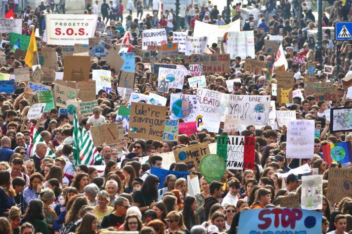 fridays for future verona sciopero clima