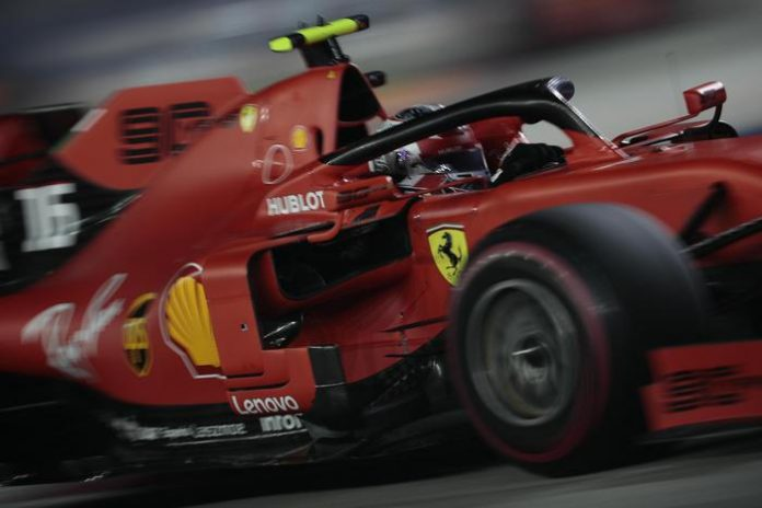 doppietta Ferrari singapore