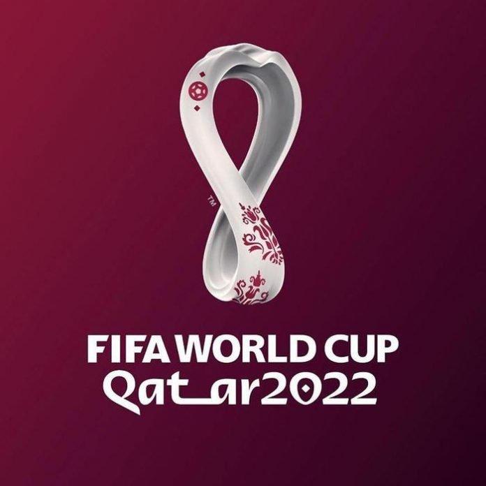Logo dei Mondiali di calcio 2022 in Qatar