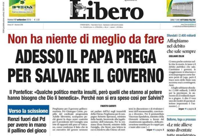 titolo Libero Papa - ordine dei giornalisti