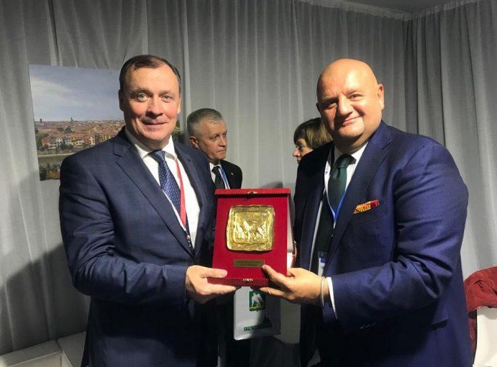 Roberto Marcato Aleksey Orlov Russia delegazione russa