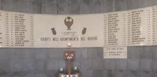camera ardente carabinieri
