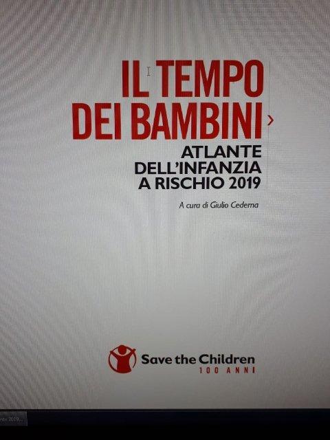 povertà bambini save the children