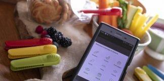 spreco alimentare memo food clip molletta hi-tech