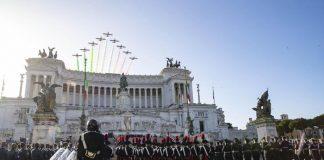 Il Presidente Sergio Mattarella in occasione della deposizio