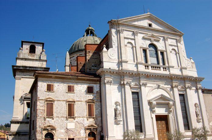 La chiesa di San Giorgio in Braida, tappa di partenza del percorso di Fondazione Verona Minor Hierusalem dedicato a Michele Sanmicheli.
