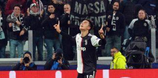 Dybala juventus-atletico madrid champions league