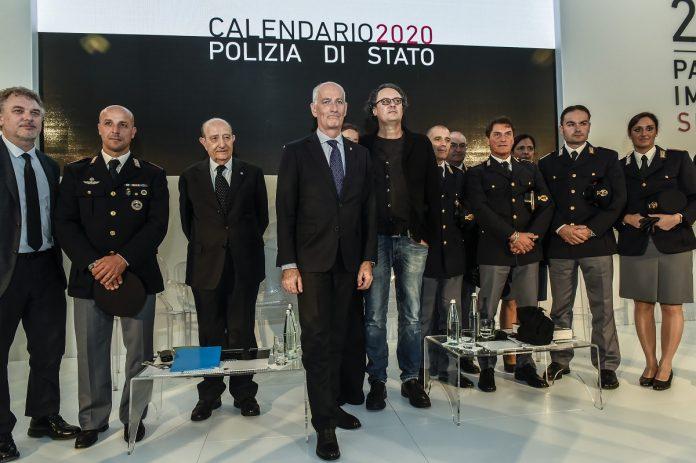 IMAGO 2019 Il Capo della Polizia Franco Gabrielli, assieme al fotografo Paolo Pellegrin