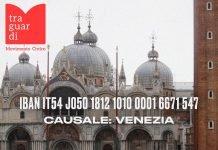 venezia Traguardi raccolta fondi