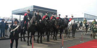 carabinieri a Fieracavalli