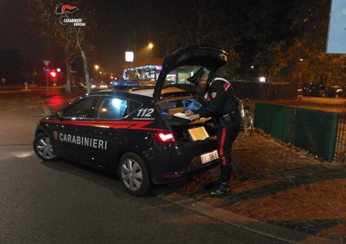 ruba elettricità carabinieri