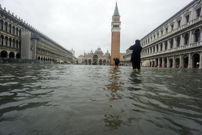 venezia acqua alta emergenza alluvione